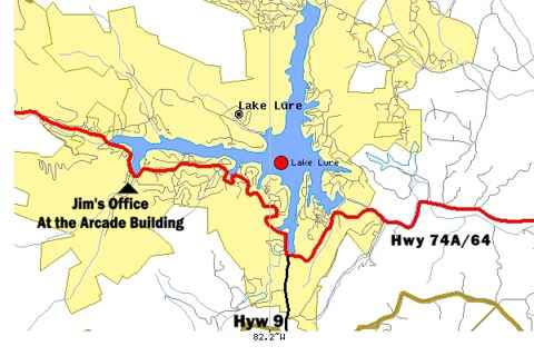 lake lure north carolina map Directions To Lake Lure And Chimney Rock Nc lake lure north carolina map